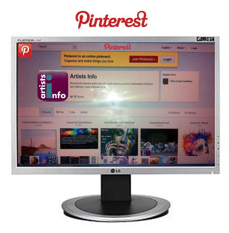 How to Sell your Art on Pinterest - Artists Info - Online Art Gallery