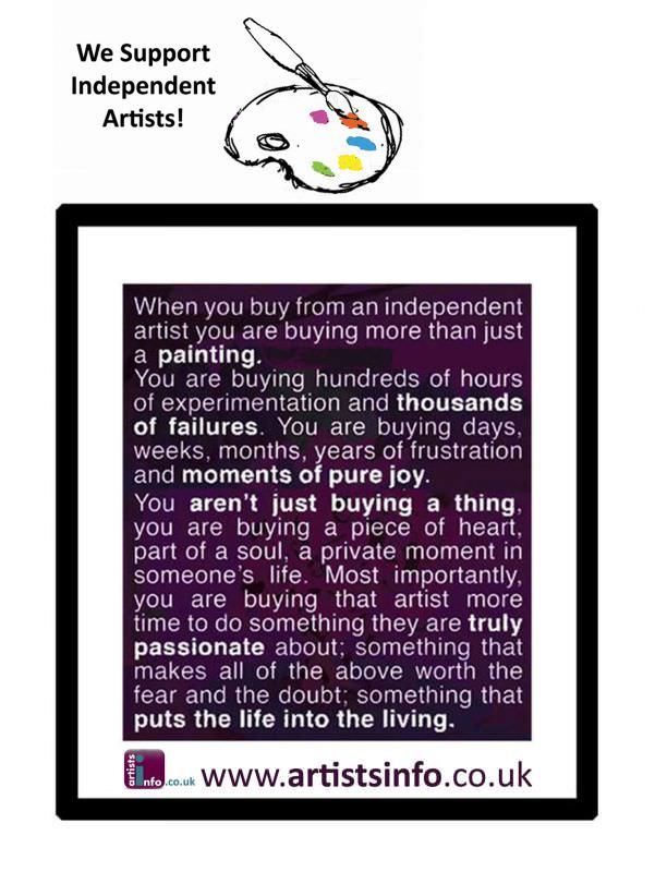 Campaign to Support Independent Artists to Sell Art Online ...