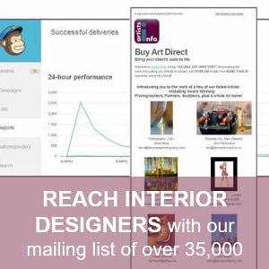 Reach Interior Designers with Artists info 300 Sq (300x300)